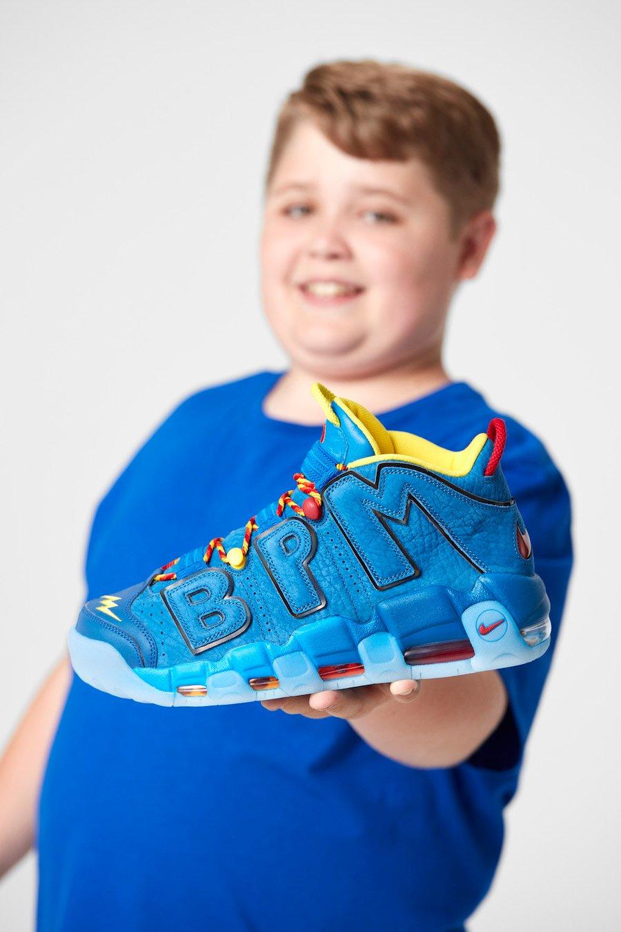 Nike Air More Uptempo Doernbecher Brody Miller