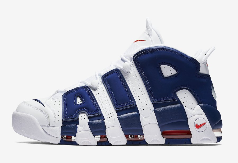 Nike Air More Uptempo The Dunk Knicks 921948-101