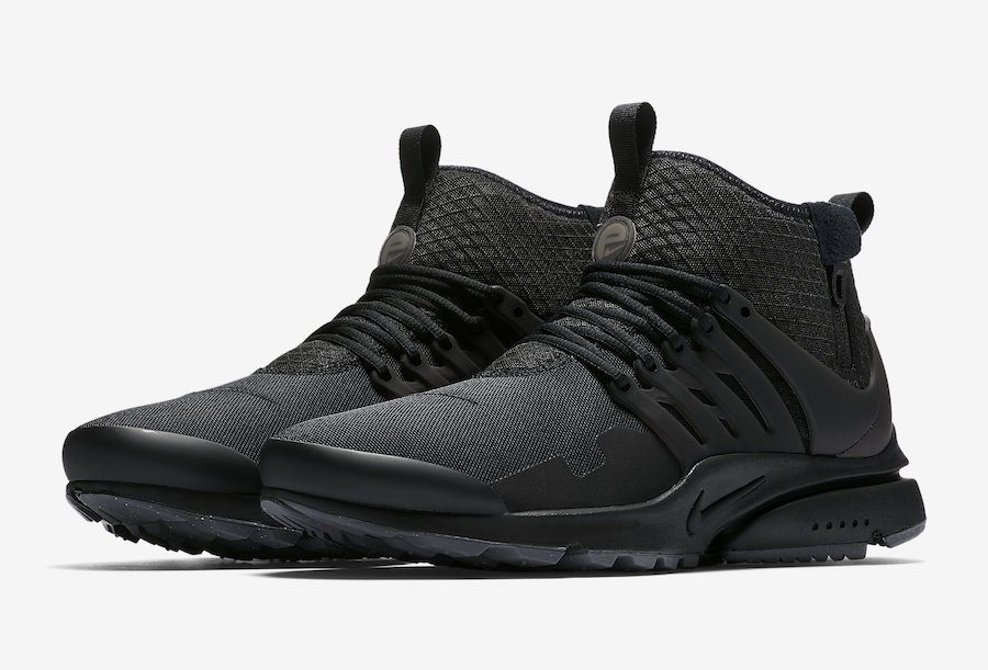 Nike Air Presto Mid Utility Triple Black