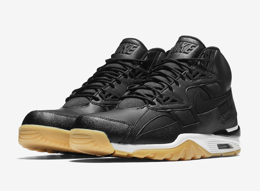 3fe9e313ef6bde Nike Air Trainer SC High Black Gum Release Date