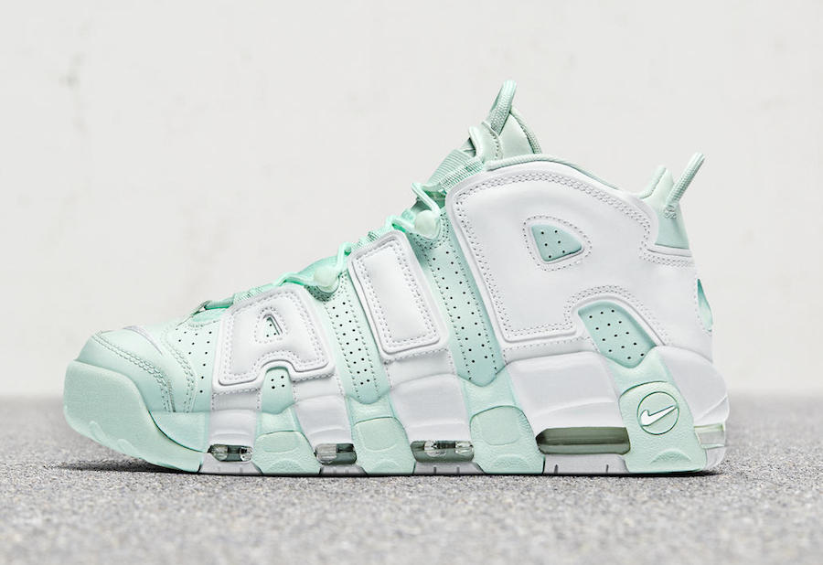 Nike Air More Uptempo Barely Green Release Date