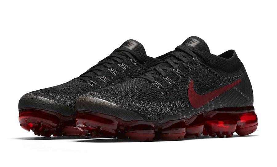 Nike Air VaporMax Bred Black Red