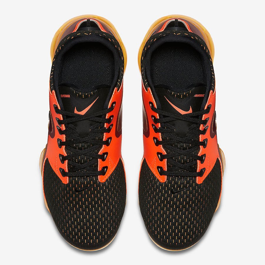 Nike Air VaporMax CS Black Orange Red