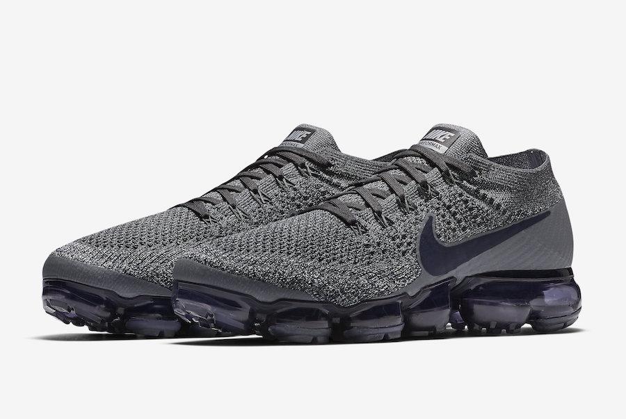 8594c60dc36e Nike Air VaporMax Dark Grey Obsidian Release Date