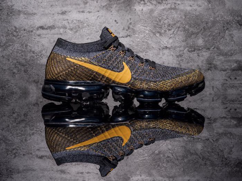 Nike Air VaporMax Grey Yellow