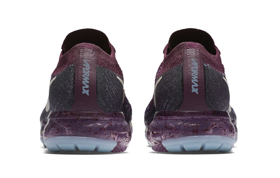 Nike Air VaporMax Maroon Speckle Sole