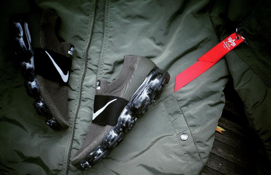 Nike Air VaporMax Strap Olive Release Date