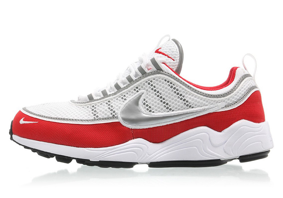 Nike Air Zoom Spiridon White Red