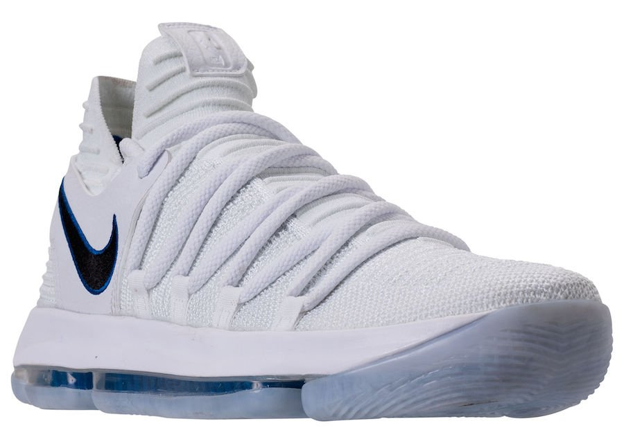 timeless design f7fe8 0cde3 Nike KD 10 Numbers 897815-101