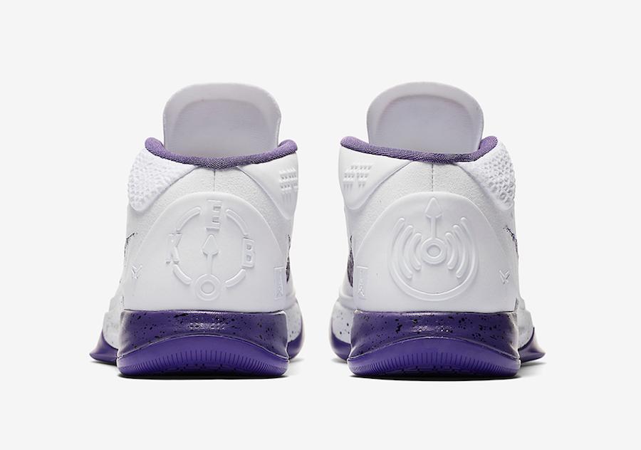 Nike Kobe AD Mid Baseline White Purple Release Date