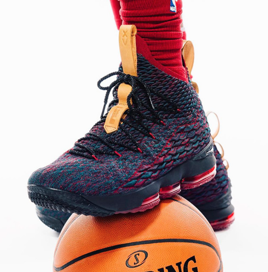 Nike LeBron 15 Cavs Media Day