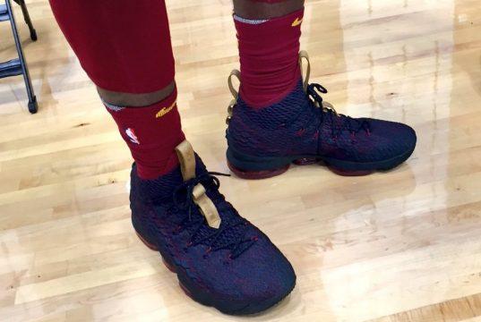 Nike LeBron 15 Cavs Media Day
