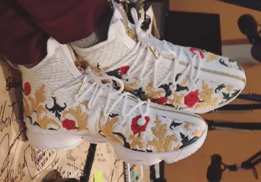Nike LeBron 15 Floral Embroidery