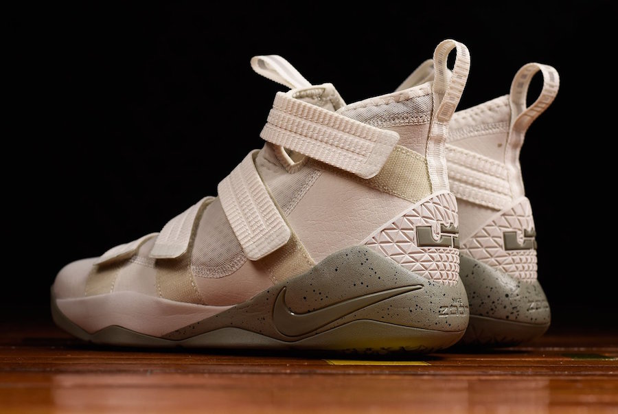 Nike LeBron Soldier 11 Light Bone Dark Stucco