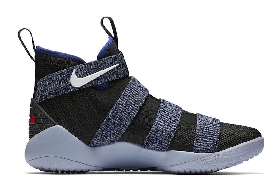 1b6b3e582c02 Nike LeBron Soldier 11 Steel Release Date