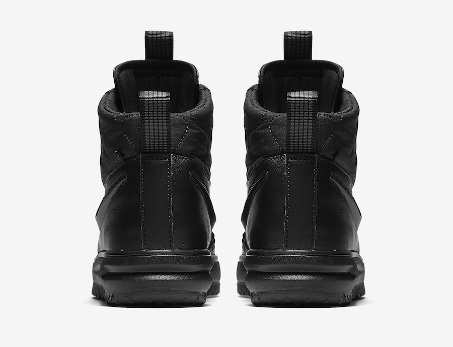 Nike Lunar Force 1 Duckboot 2017 Triple Black Release Date