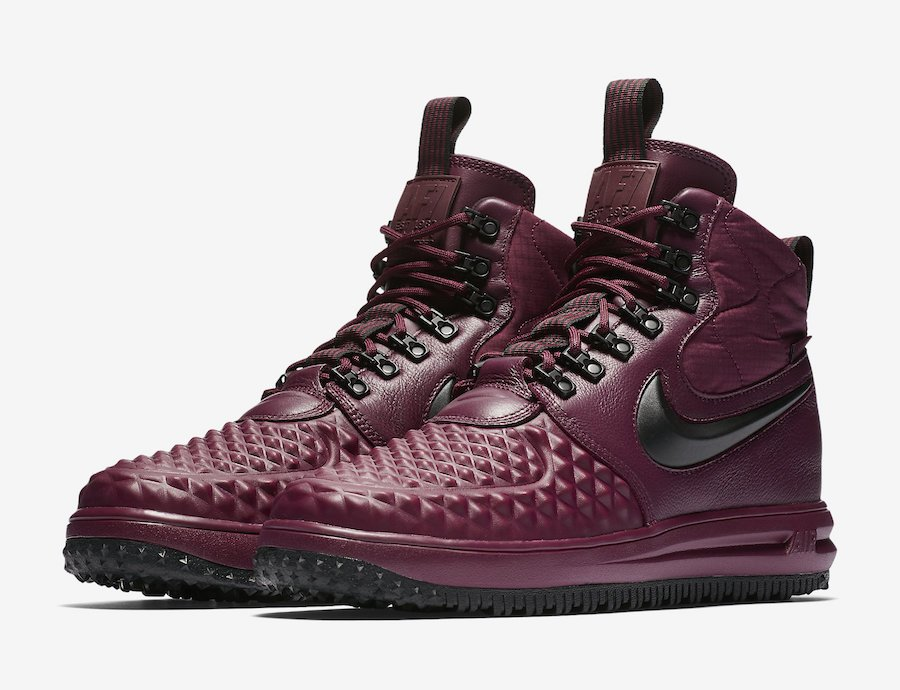 une autre chance 3065a cfd92 Nike Lunar Force 1 Duckboot Burgundy 916682-601 | SneakerFiles