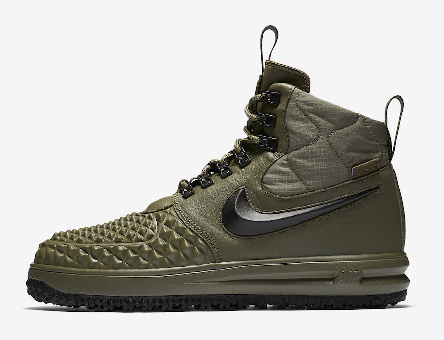 Nike Lunar Force 1 Duckboot Medium Olive Release Date