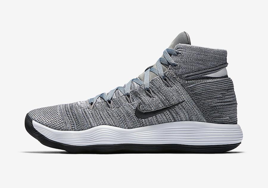 Nike React Hyperdunk 2017 Flyknit Cool Grey Release Date