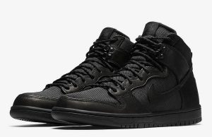Nike SB Dunk High Triple Black Release Date