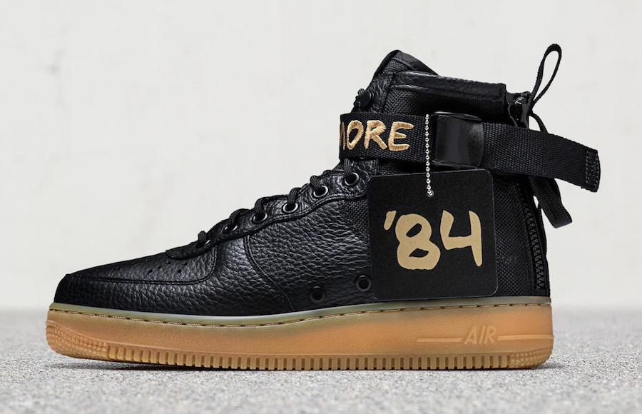 Nike SF AF-1 Mid For Baltimore Release Date 1d9aa51be
