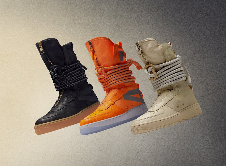 Nike SF-AF1 High Colorways Release Date