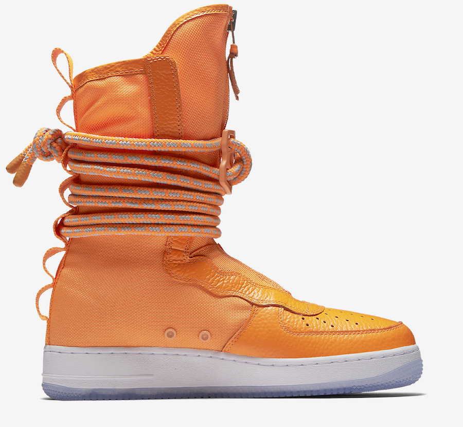 Nike SF-AF1 High Orange AA128-800