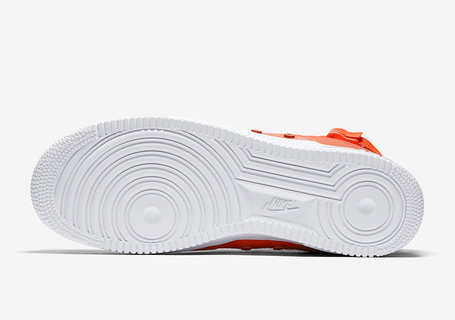 Nike SF-AF1 Mid Team Orange Release Date