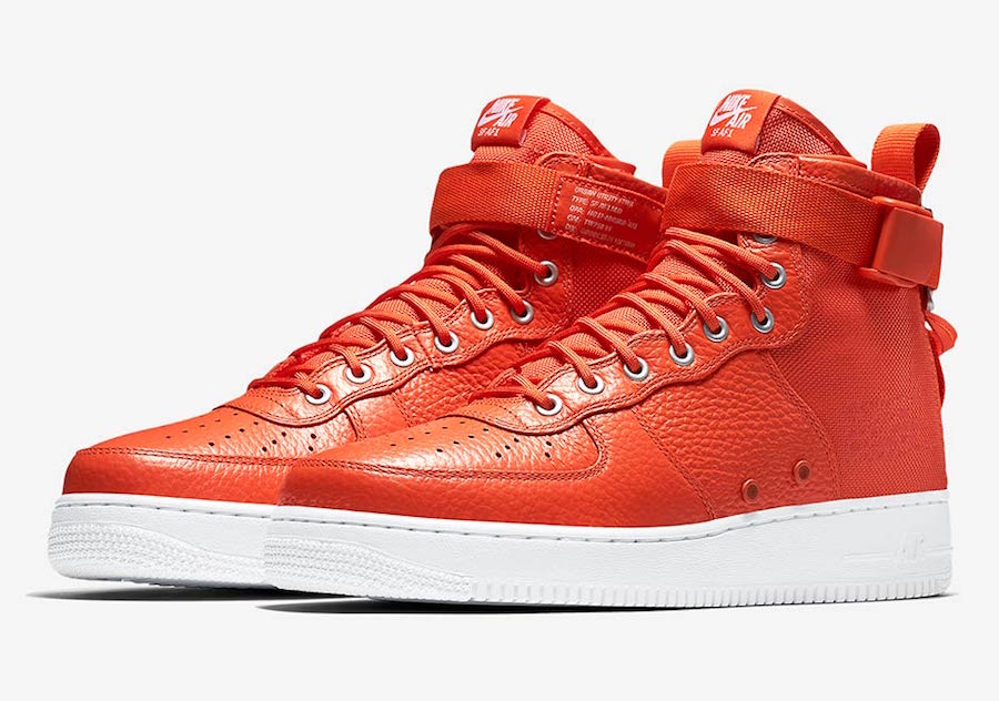 Nike SF-AF1 Mid Team Orange Release Date