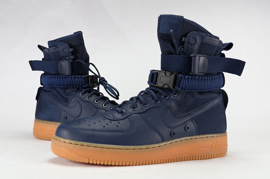 Nike SF-AF1 Midnight Navy Gum Review