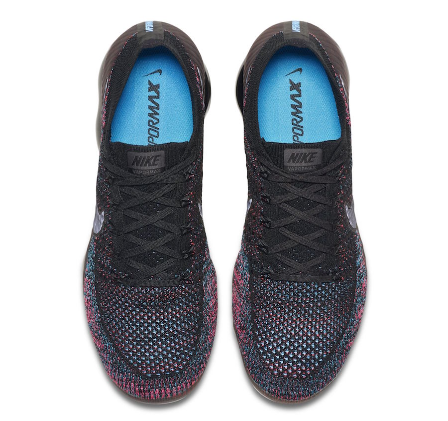 Nike VaporMax Black Pink Blue Multi-Color