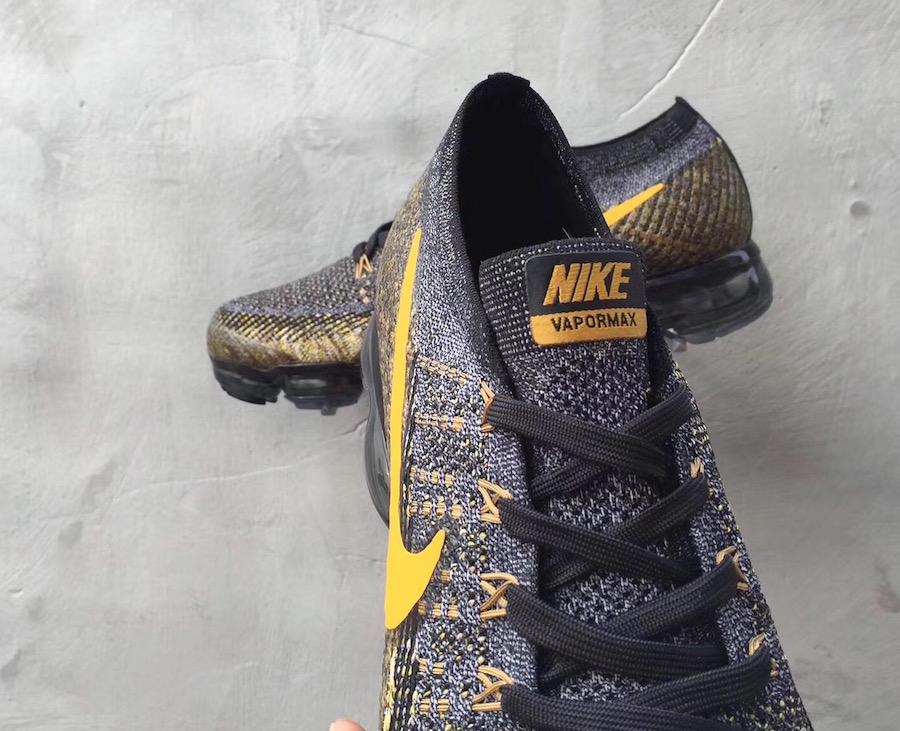 Nike VaporMax Grey Yellow