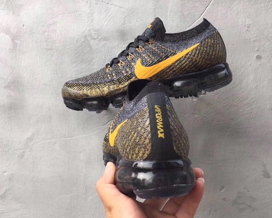 Nike Air VaporMax Grey Yellow
