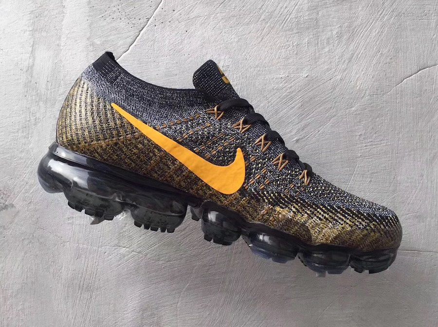 Nike Air VaporMax Grey Yellow  2112ad0159