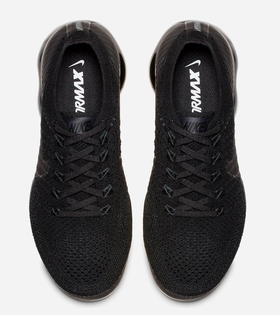 Nike VaporMax Triple Black 2.0 Release Date