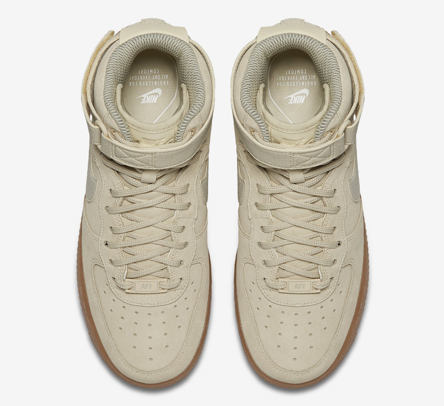 Nike WMNS Air Force 1 High SE Ivory Release Date
