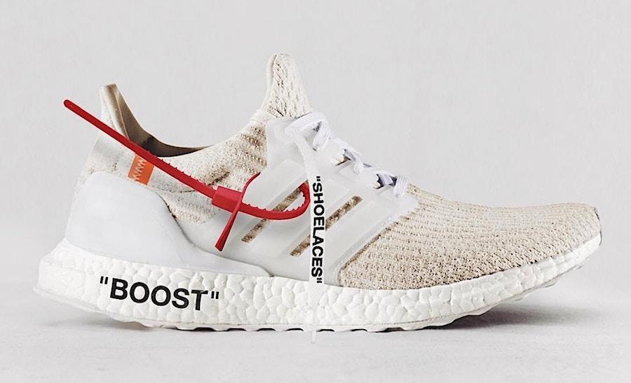 OFF-WHITE adidas Ultra Boost Custom