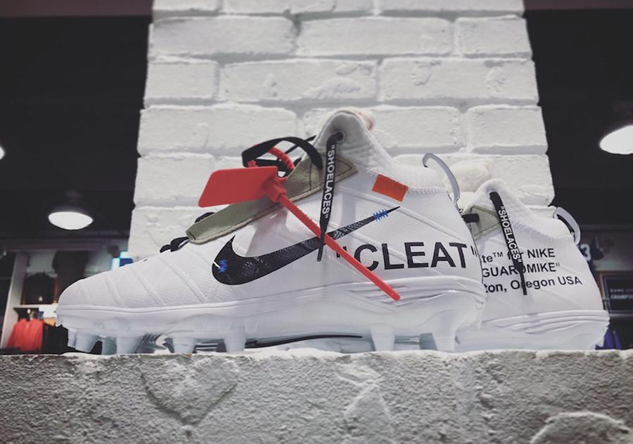 OFF-WHITE Nike Cleat Mache Custom