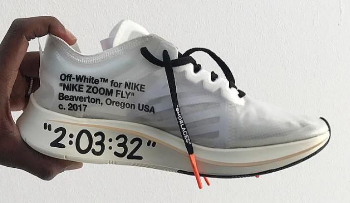 OFF-WHITE Nike Zoom Fly Custom