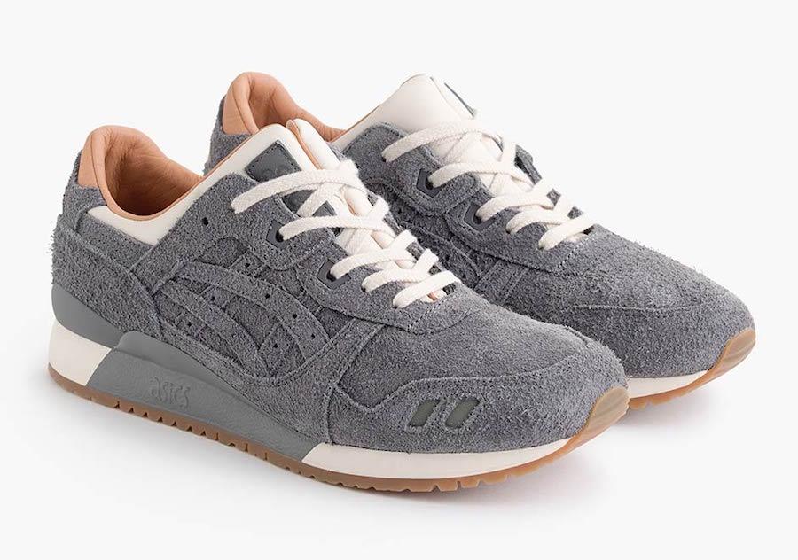 Packer Shoes JCrew Asics Gel Lyte III Grey