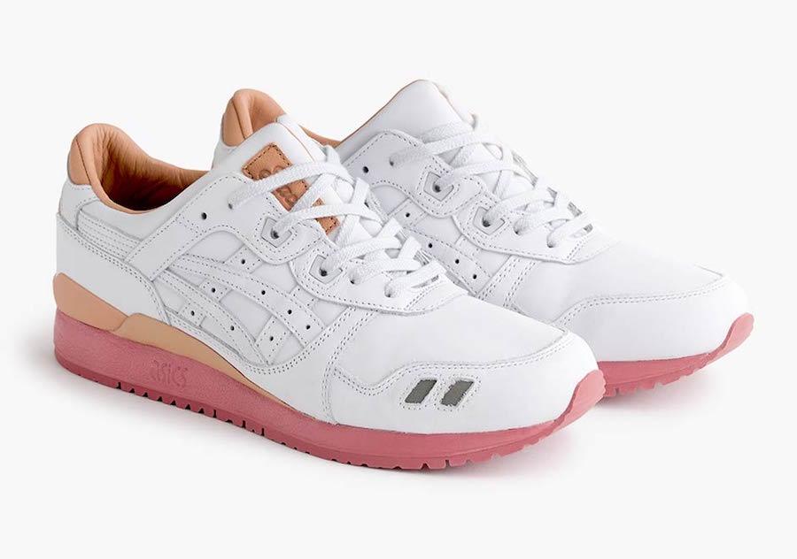 Packer Shoes JCrew Asics Gel Lyte III White