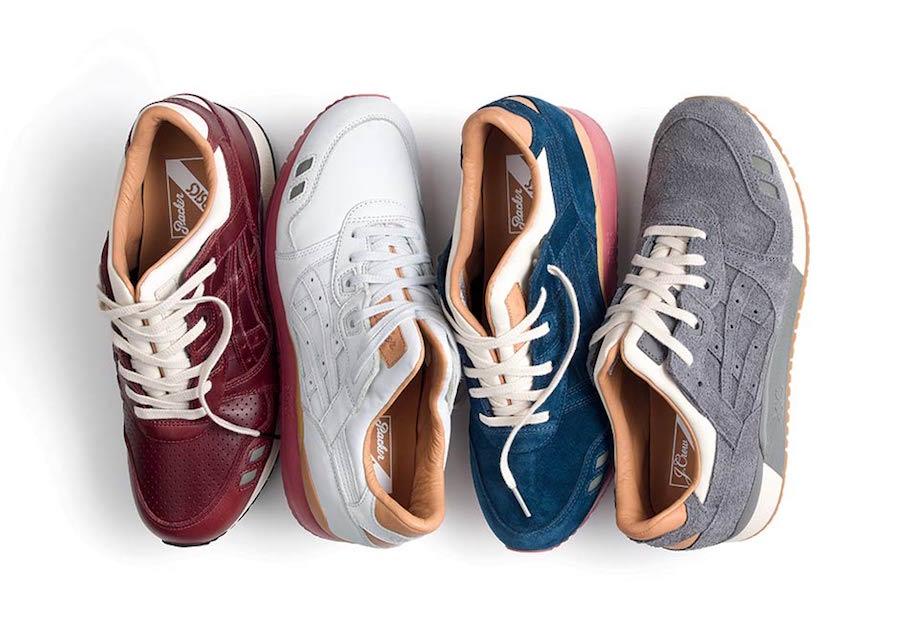 Packer Shoes JCrew Asics Gel Lyte III