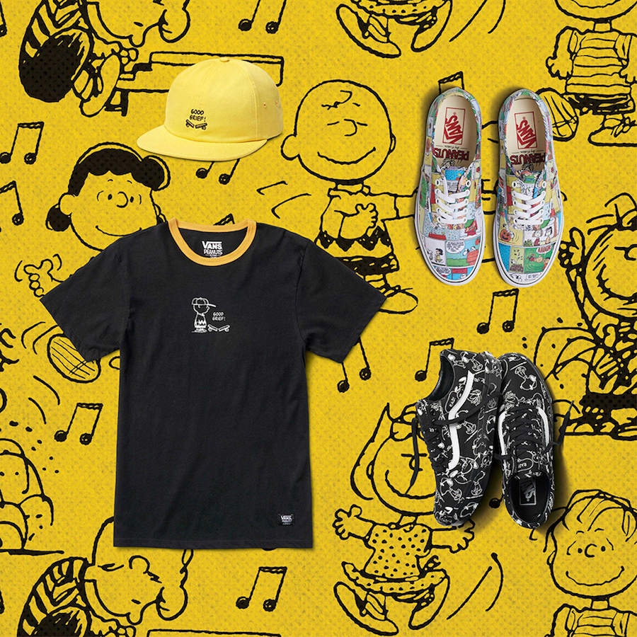 Peanuts Vans Fall 2017 Collection