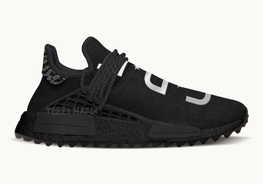 Adidas NMD Pharrell HU Human Species Black