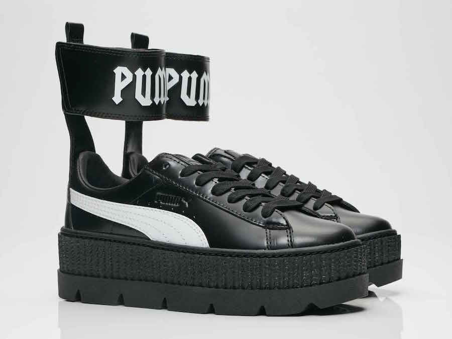 save off b5b20 b8351 Rihanna Fenty Puma Ankle Strap Creeper | SneakerFiles