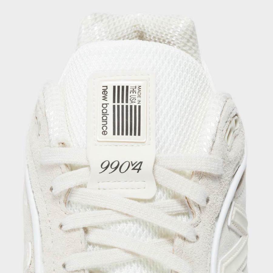 Stussy New Balance 990V4 Cream White