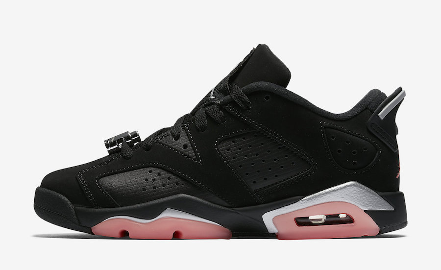 Sunblush Jordan 6 Low Retro Kids