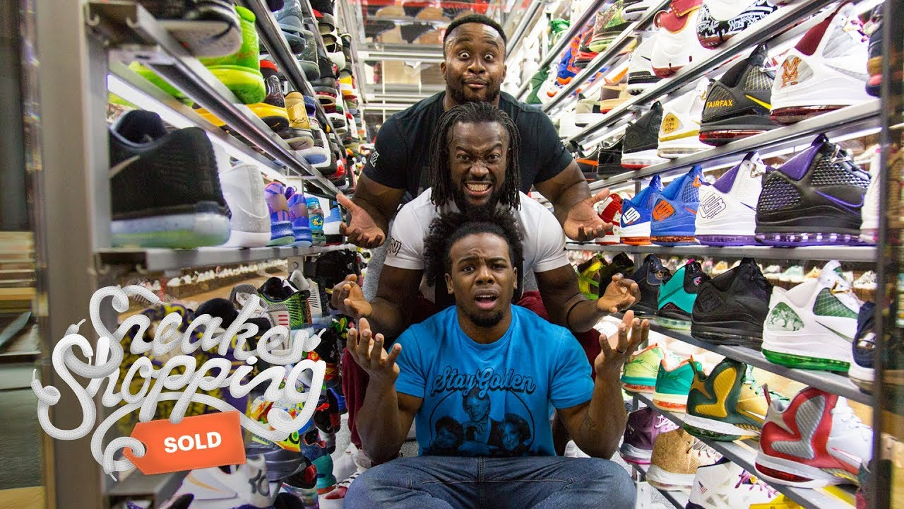 The New Day Sneaker Shopping