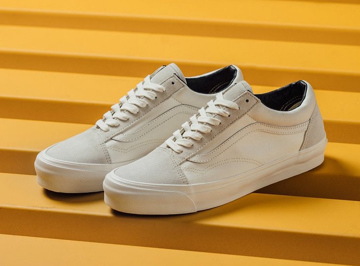 vans old skool lx blanc de blanc sneakerfiles. Black Bedroom Furniture Sets. Home Design Ideas