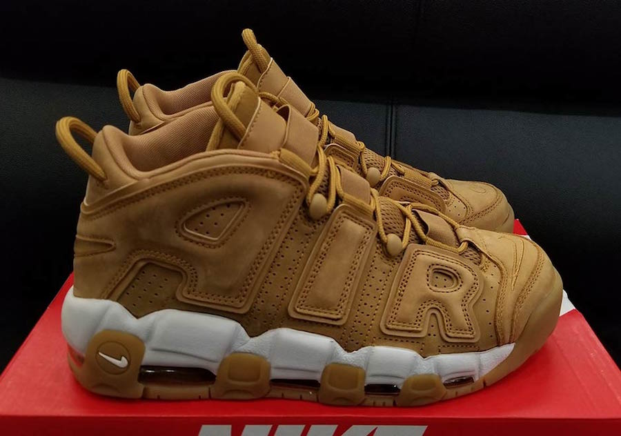 sports shoes 16cc8 08837 Wheat Nike Air More Uptempo AA4060-200